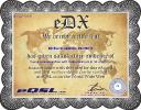 eDX certificate eQSL