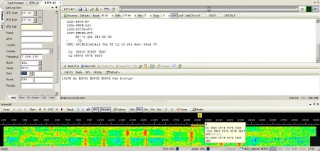 RTTY in DM780 (Ham Radio Deluxe)